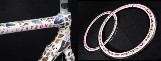 "Lance Armstrong x Damien Hirst x Trek ""STAGES"" Preview"