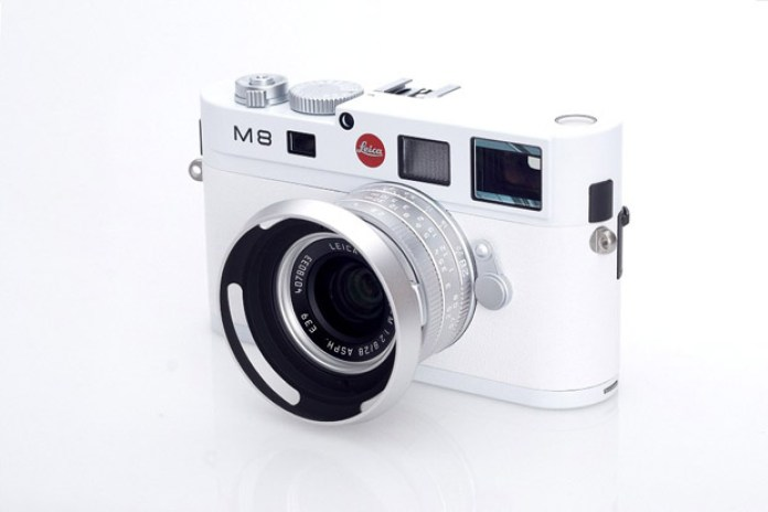Leica M8 Special Edition White Version Camera Release
