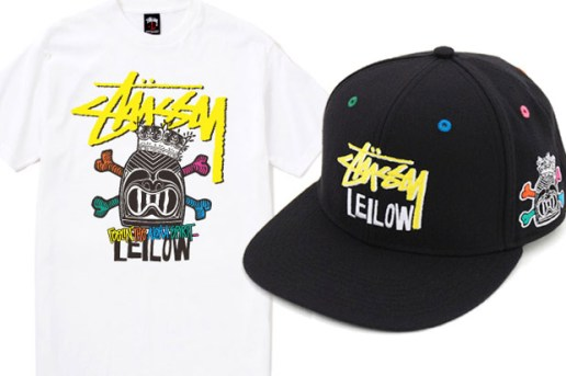 Leilow Hawaii x Stussy Caps & T-Shirt