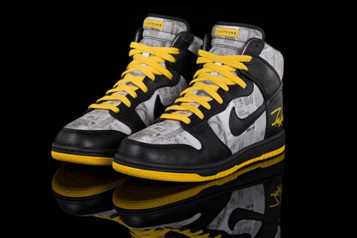 "LIVESTRONG x Futura x Nike Sportswear Dunk Hi ""FLOM"""