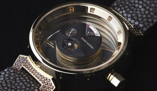 Louis Vuitton Tambour Mysterieuse Watch