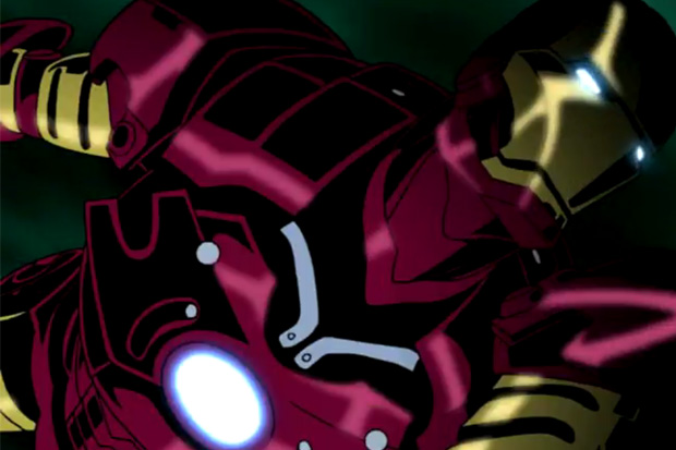 Madhouse x Marvel Comics Anime Iron Man & Wolverine