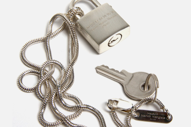 Maison Martin Margiela Padlock Necklace
