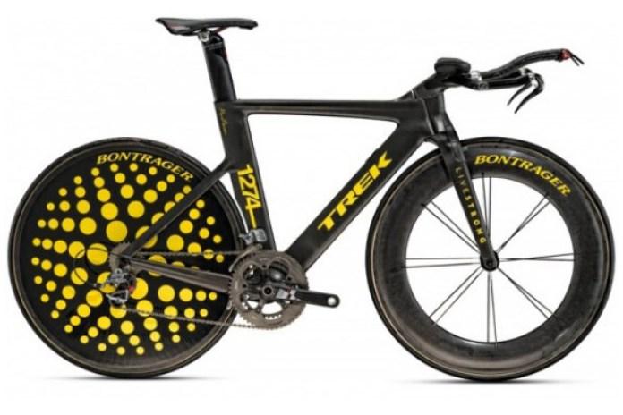 Lance Armstrong TREK Art Bike by Marc Newson