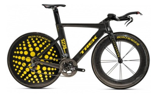 Lance Armstrong TREK Art Bike by Marc Newson