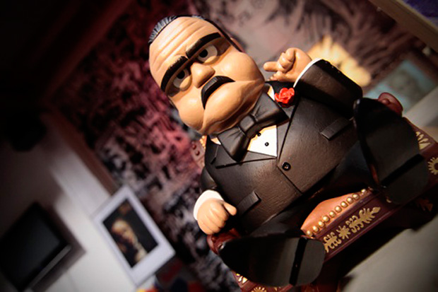 "Michael Lau x MINDstyle ""The Godfather"" Figure"