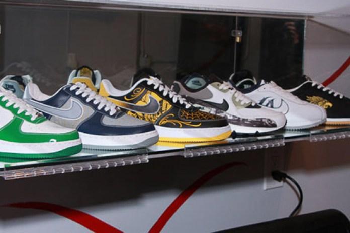 Mr. Cartoon x LIVESTRONG x Nike Air Force 1 Release Event Recap