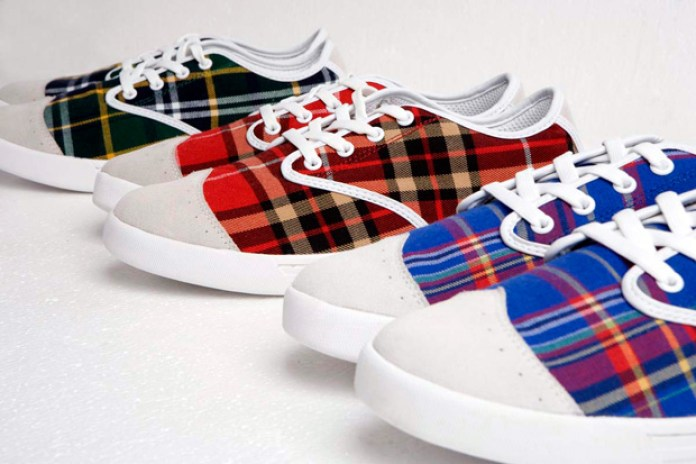 MS Sneaker 2009 Fall/Winter Rainbow Check Sneakers