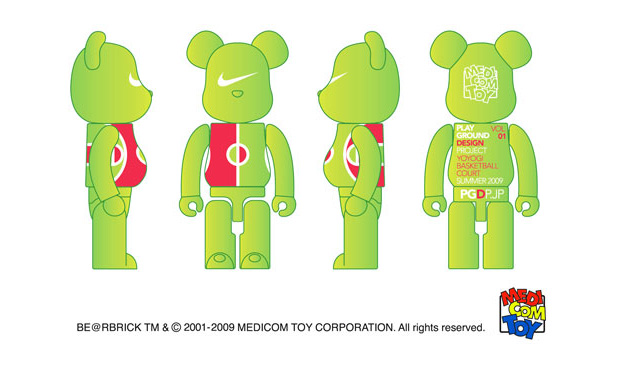 Nike x Medicom Toy Playground Design Bearbrick Vol. 1