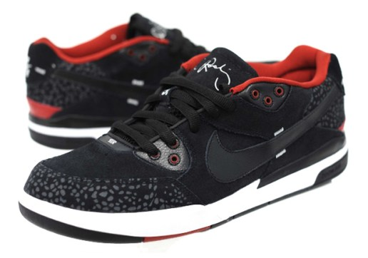 Nike SB Zoom Paul Rodriguez (P-Rod) III Black/Red