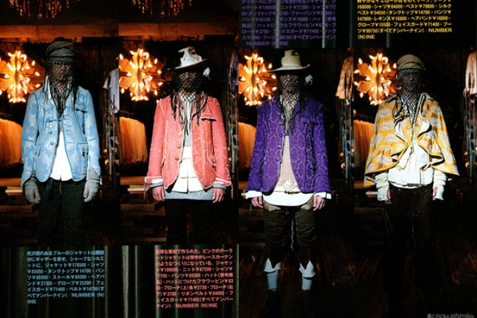 "Number (N)ine 2009 Fall/Winter ""Last Songs"" Collection"