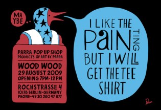 Parra | Exhibition & Pop-Up Store Opening
