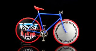 Pedal ID x Transformers Toy Bike