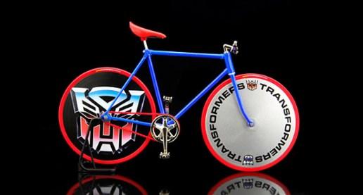 Pedal ID x Transformers Toy Bike