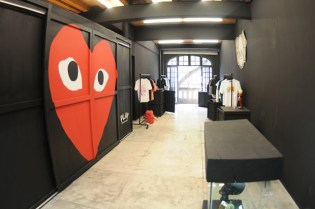 PLAY COMME des GARCONS Installation @ Headquarter Mexico
