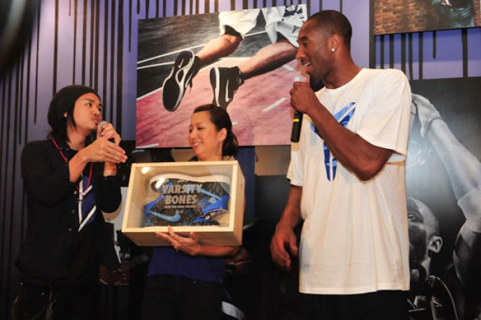 "SBTG x Nike Dunk High ""Varsity Bones"" Custom for Kobe Bryant"