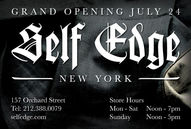 Self Edge New York Grand Opening