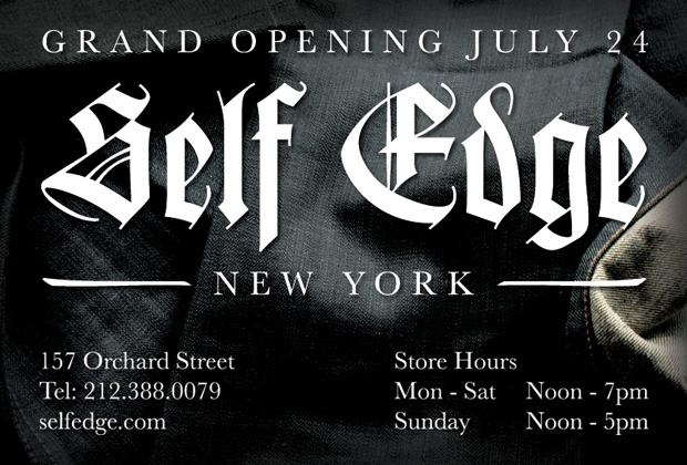Self Edge New York Grand Opening