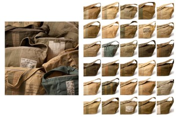 SOPHNET. x Jantiques Aviator Kit Bags