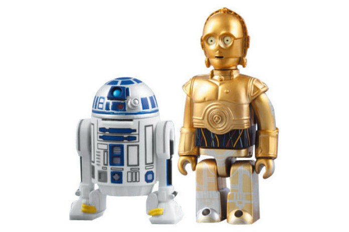 Star Wars x MEDICOM TOYS Kubrick C-3PO & R2-D2