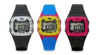 Stussy x Freestyle Shark Classic Watches
