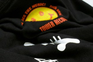 Stussy x Tower Records 30th Anniversary T-Shirt