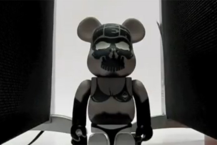 Surrender x MEDICOM TOY Bearbrick Transformation Video