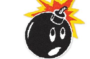 The Hundreds x Brooklyn Projects Pasadena Adam Bomb T-shirt