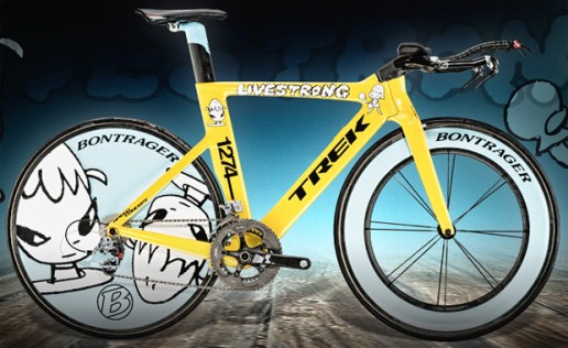 Trek Lance Armstrong STAGES Bike by Yoshitomo Nara