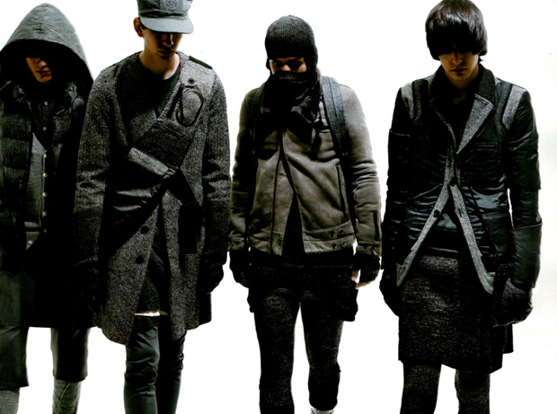 UNDERCOVER 2009 Fall/Winter Photoshoot in Men's Non-No