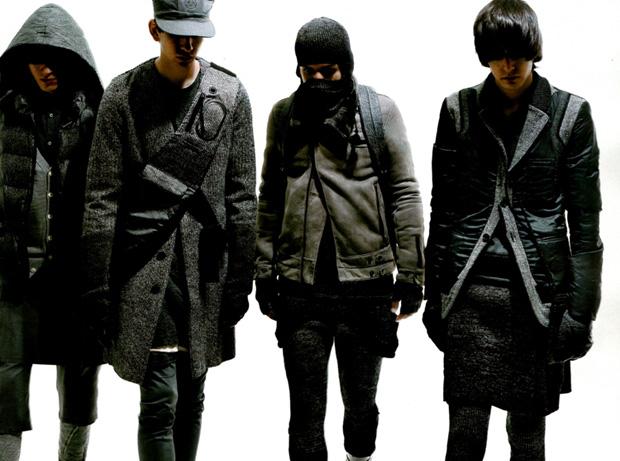 UNDERCOVER 2009 Fall/Winter Photoshoot in Men's Non-No