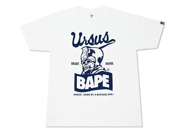 URSUS BAPE by Tetsu Nishiyama 2009 July New Releases