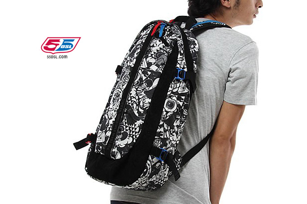 55DSL x Master-Piece 15th Anniversary Over Backpack