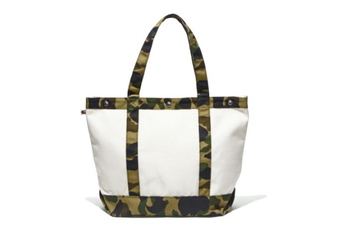 A Bathing Ape Camouflage Bags