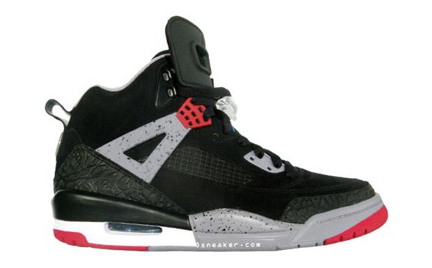 Jordan Spiz'ike Black/Red