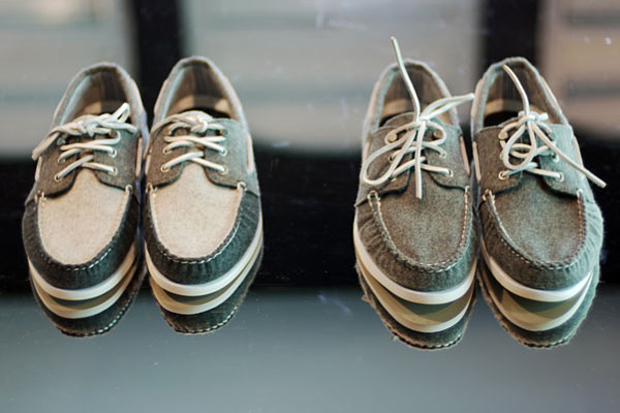 Band of Outsiders for Sperry 2009 Fall/Winter Footwear Collection