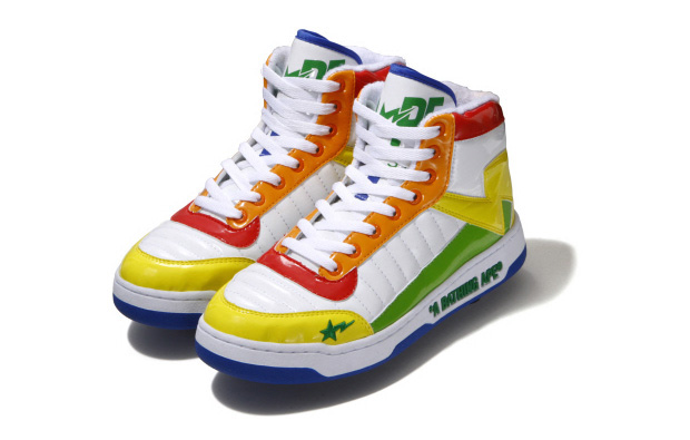 A Bathing Ape Bapesta 88 Rainbow