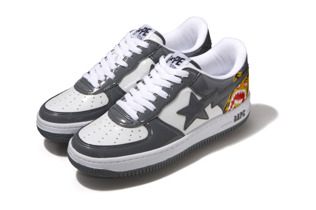 A Bathing Ape Bapesta Tiger Sneakers
