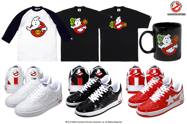 Bape USA Ghostbusters Shop Event