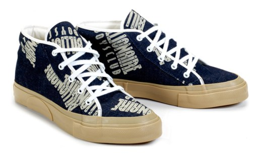 Billionaire Boys Club Straight Logo Pattern Chukka Sneakers