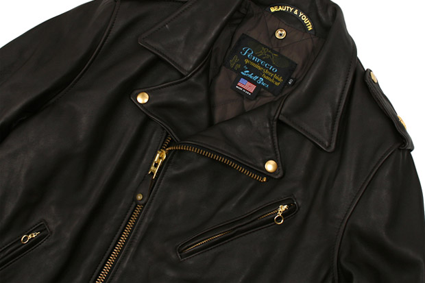 Beauty & Youth x Schott Leather Jacket
