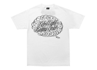 "Benny Gold x REBEL8 Online Exclusive ""Script"" T-shirt"