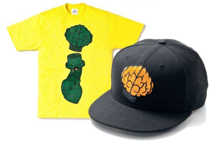Billionaire Boys Club Heart & Mind T-shirt / New Era 59FIFTY Fitted Cap