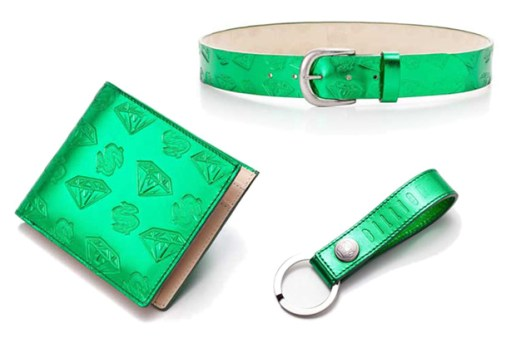 Billionaire Boys Club Metallic Green Dollars & Diamonds Collection