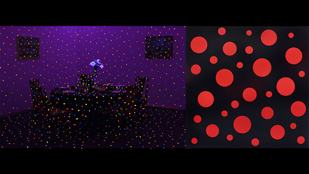"""COMME des GARCONS """"Six"""" × Yayoi Kusama """"Room to Grow"""" Exhibition"""