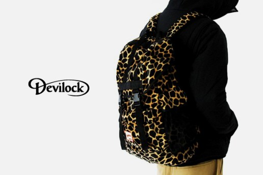 Devilock Giraffe Print Backpack