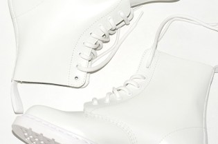 Dr. Martens White Combat Boot