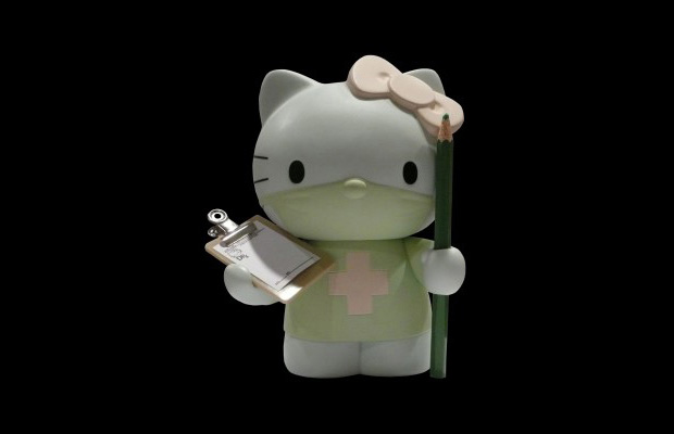 Dr. Romanelli x Hello Kitty Medicom Toy Vinyl