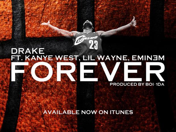 Drake feat. Lil Wayne, Kanye West and Eminem - Forever