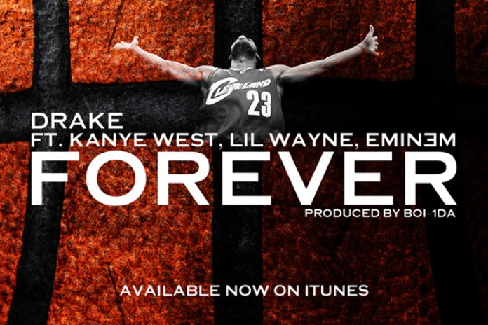 Drake feat. Lil Wayne, Kanye West and Eminem - Forever